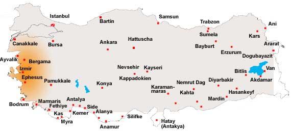 türkische stadt ägäis