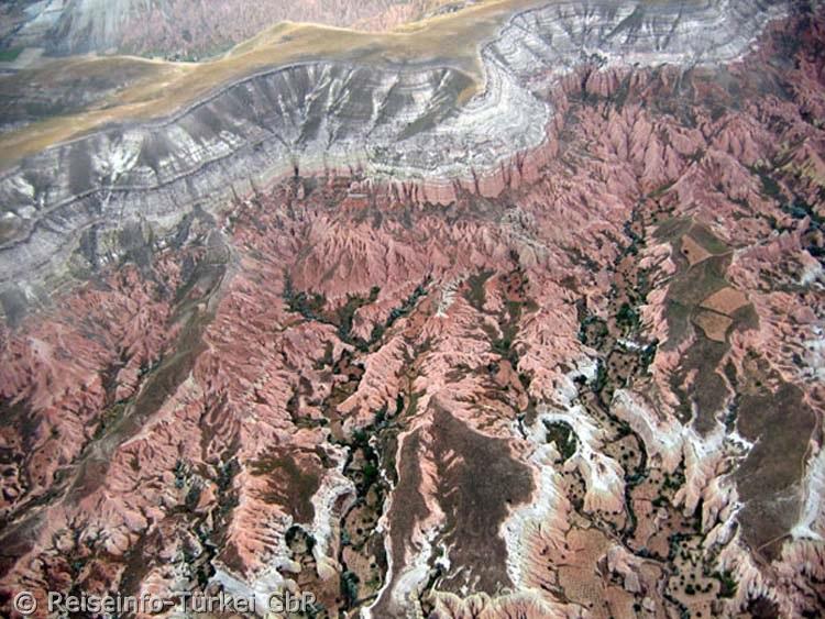 Rose Valley (Güllüdere), ein Tal mit rosaroten Felsformationen