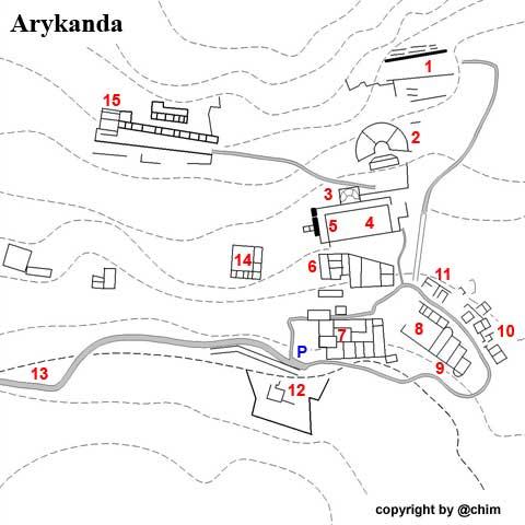 Arykanda, antike Stadt in atemberaubender Kulisse